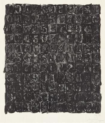 Jasper Johns-Numbers-1967