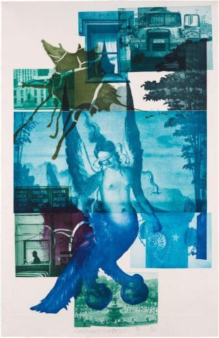 Robert Rauschenberg-Robert Rauschenberg - Bellini #1-1986
