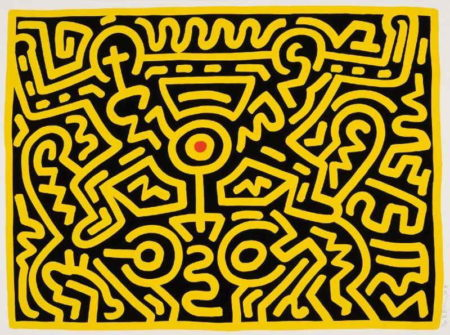 Keith Haring - Growing 4-1988