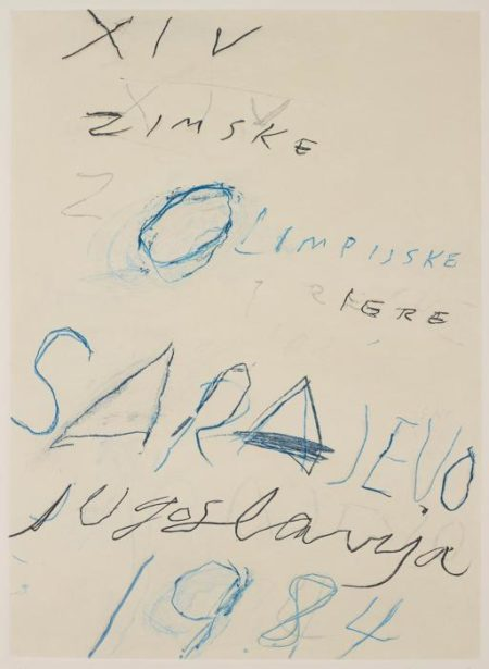 Cy Twombly-Untitled, from Art and Sports-1984