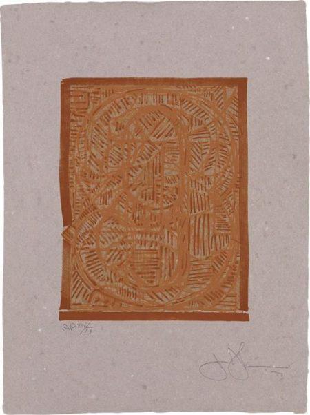 Jasper Johns-0 Through 9-1977