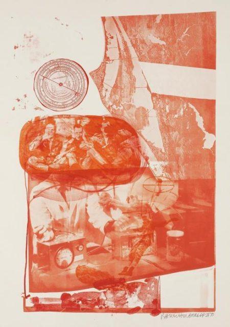 Robert Rauschenberg-Robert Rauschenberg - Ape, from Stoned Moon Series-1970