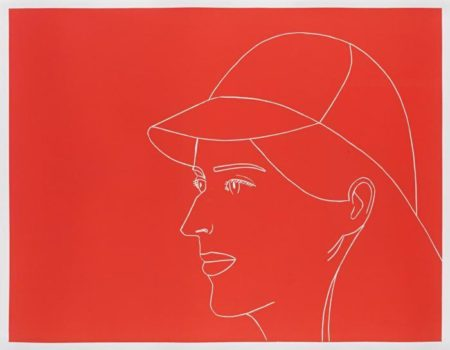 Alex Katz-Kym with Baseball Cap-2007
