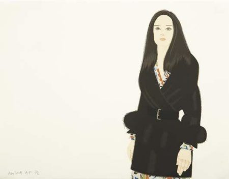 Alex Katz-Maria I-1993
