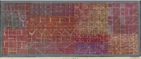 Paul Klee-Vorhang (Rideau)-1924