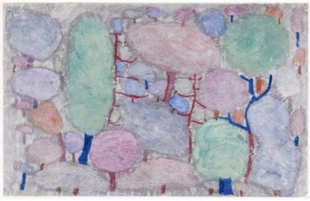 Paul Klee-Bunter Wald (Bois Colores)-1934