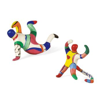 Niki de Saint Phalle-Le couple d'acrobates - Les singes-