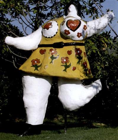 Niki de Saint Phalle-La vie en rose - La danseuse rose-1968