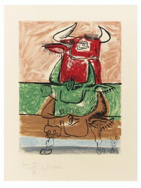 Le Corbusier-Unite, Planche 19-1963