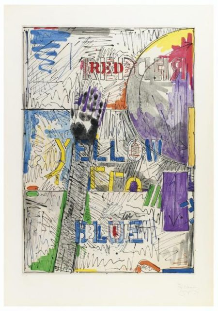 Jasper Johns-Land's End-1979