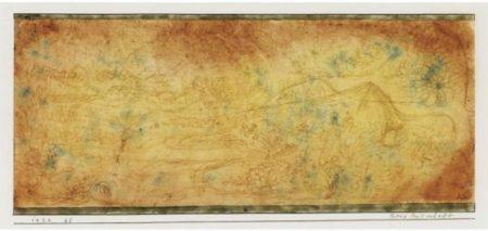 Paul Klee-Berg Landschaft (Paysage De Montagne)-1924