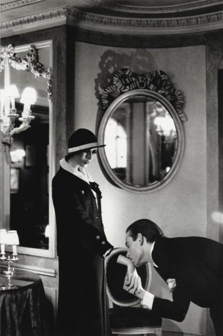 Helmut Newton-At Maxim's, Upstairs, Paris-1978