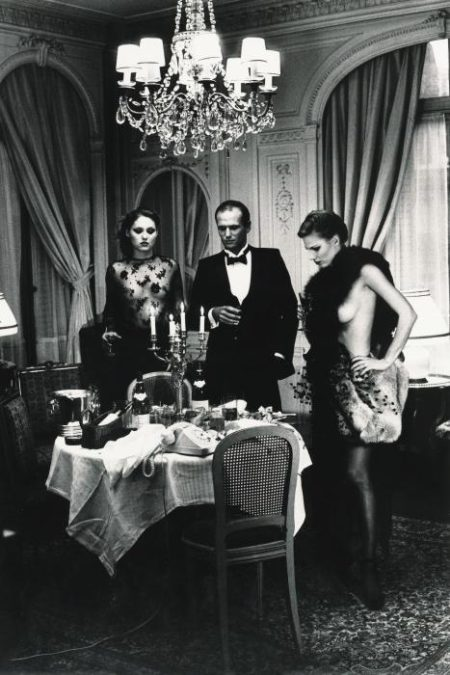 Helmut Newton-Hotel Suite I, After Dinner, Paris (De Private Property I)-1977
