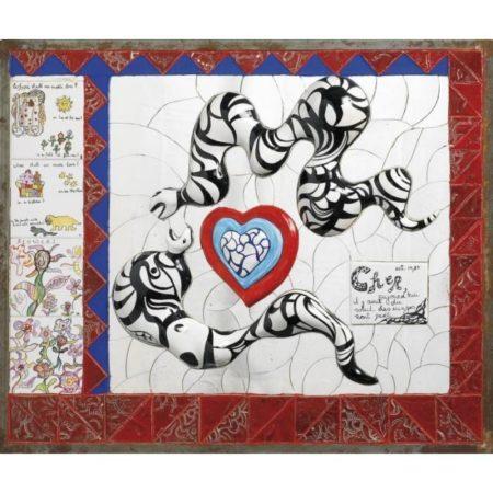 Niki de Saint Phalle-Lettre-1988