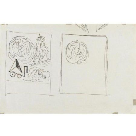 Lucio Fontana-Figure-