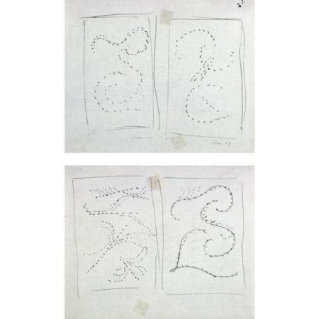 Lucio Fontana-Due studi-1949