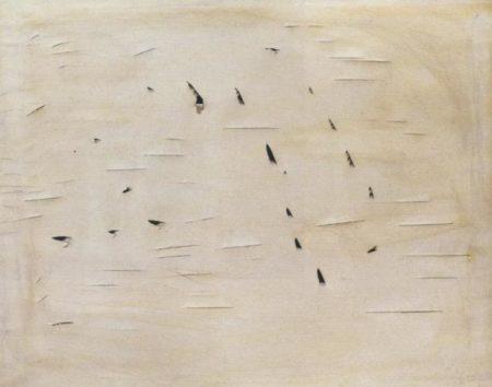 Lucio Fontana-Concetto spaziale-1958