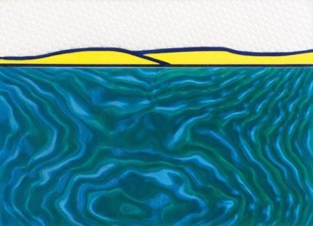 Roy Lichtenstein-Landscape-1963