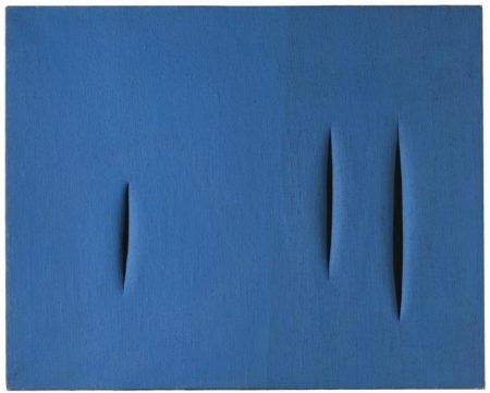 Lucio Fontana-Concetto spaziale, attese-1957