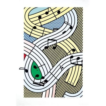 Roy Lichtenstein-Composition III-1996
