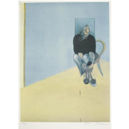 Francis Bacon-Study for Self Portrait-1984