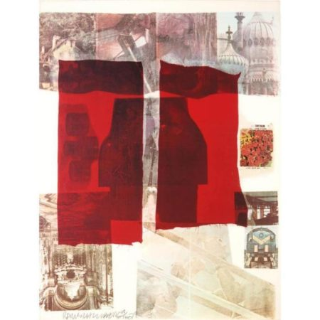 Robert Rauschenberg-Robert Rauschenberg - Untitled (From Suite Of Nine Prints)-1979