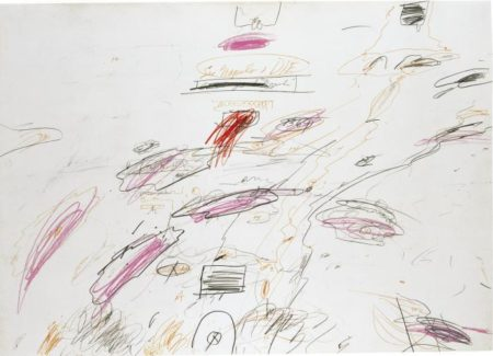 Cy Twombly-See Naples + Die-1961