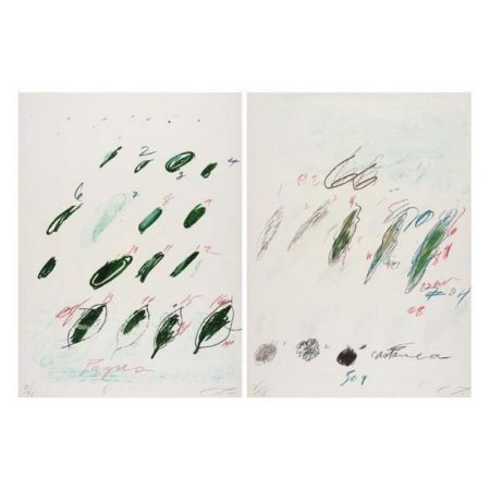 Cy Twombly-Natural History Part II, some Trees of Italy-1976