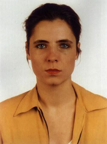 Thomas Ruff-Portrat, Blaue Augen-1991