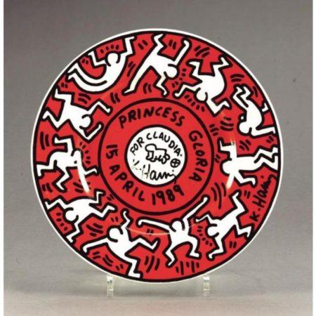 Keith Haring-Keith Haring - Princess Gloria-1989