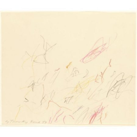 Cy Twombly-Untitled-1957