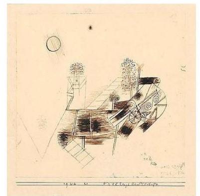 Paul Klee-Fruhlingslandschaft (Spring Landscape)-1924