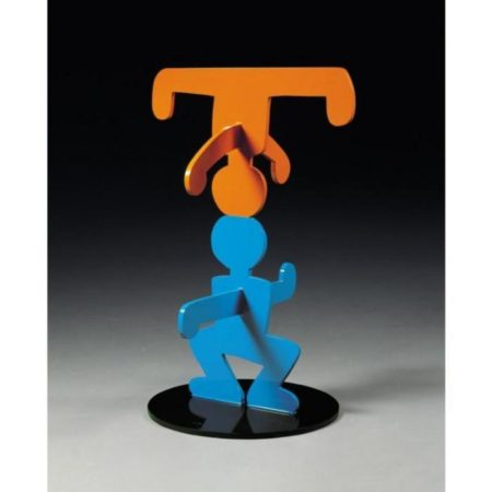 Keith Haring-Keith Haring - Acrobats-1986