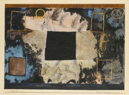 Paul Klee-Felsen Kammern (Rock-Cut Chambers)-1930
