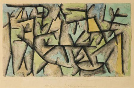 Paul Klee-Jagd Revier Bei Sp. (Hunting Ground Near Sp.)-1937