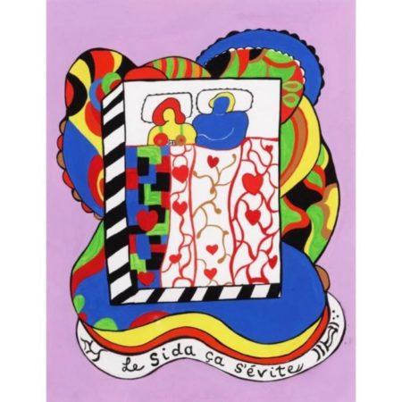 Niki de Saint Phalle-Le sida ca s'evite-