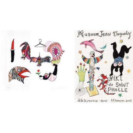Niki de Saint Phalle-Museum Jean Tinguely; En souvenir d'Hanovre-