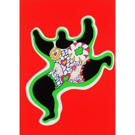 Niki de Saint Phalle-Nana dancing-