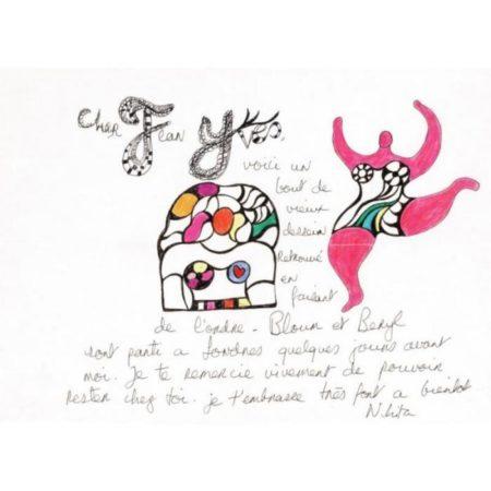 Niki de Saint Phalle-Pink Nana-