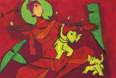 Maqbool Fida Husain-Untitled-2006