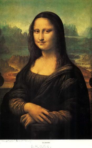 Marcel Duchamp-L.H.O.O.Q. - Mona Lisa-1964