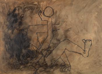 Maqbool Fida Husain-Untitled-1958