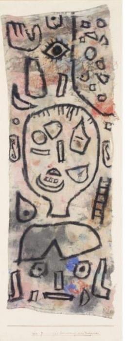 Paul Klee-Zur Errinerung An Ein Verbrechen (In Memory Of A Crime)-1939