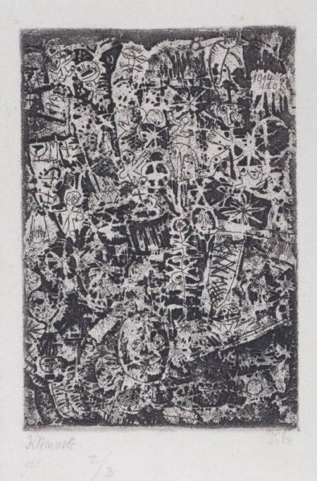Kleinwelt (Little World) (From 'Die Schaffenden', Sheet 3)-1914