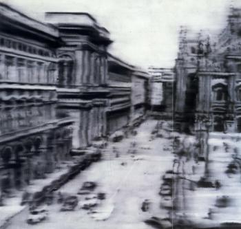 Gerhard Richter-Domplatz, Mailand (Cathedral Square, Milan)-1968