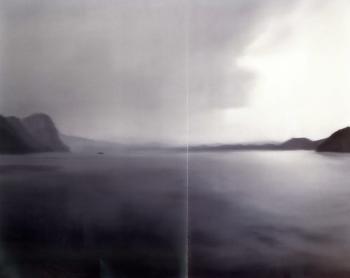 Gerhard Richter-Vierwaldstatter See-1969