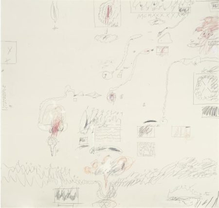 Cy Twombly-Crimes of passion I-1960