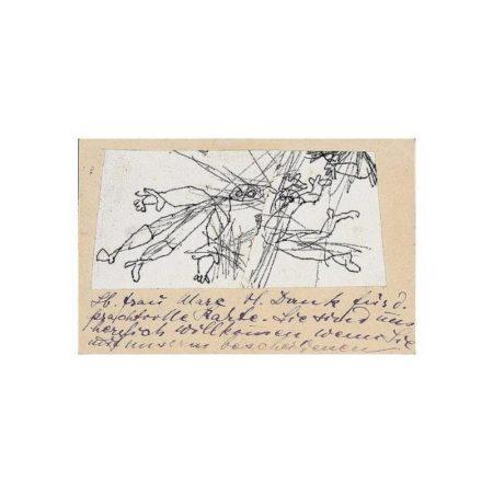 Paul Klee-Figurenskizzen (Figure Sketches)-1913