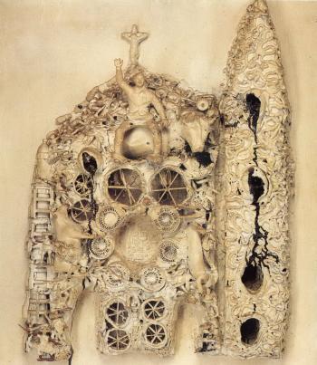 Niki de Saint Phalle-Texas Cathedral-1963