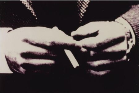 Richard Prince-Untitled (Man's Hand With Cigarette)-1980
